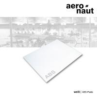 ABS-Platte 500 x 400 x 1,0 mm