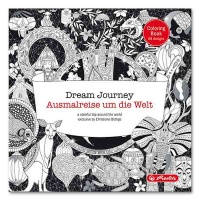 Malbuch Dream Journey mit 68 Motiven