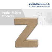 Buchstabe Papier-Mâché - Z