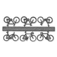 Bicycles, 1:200, grey