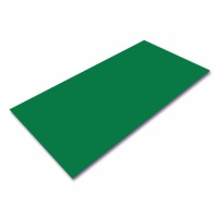 Polystyrene Sheet Green 495 x 1000  x 2.0 mm