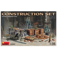 Baustellen-Set im Maßstab 1:35