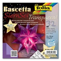 Craft Kit Bascetta Star violet transparent