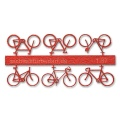Bicycles 1:87, light red