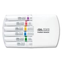 Pigment Marker 6er Set kräftige Töne