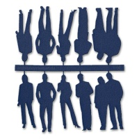 Figures, 1:50, dark blue