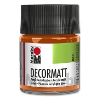 Decormatt Acrylic matt - No. 013 orange