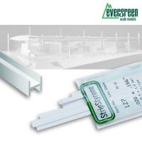 Evergreen T-Profil 0,9 x 0,9 mm