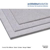 Graupappe 750 x 1000 x 1,5 mm