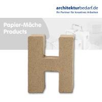 Buchstabe Papier-Mâché - H