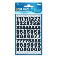 Number Stickers, 0 - 9, self-adhesive, Zweckform 3781