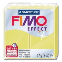 Fimo Effect Translucent Colour 106 citrin