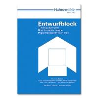 Transparentpapier A4 - 70/75 g/m² Entwurfblock