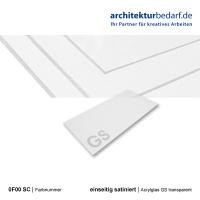 Acrylglas GS einseitig satiniert 0F00 SC