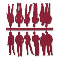 Figures, 1:50, dark red