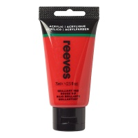 Reeves Acrylic 75 ml, 230 brilliant red