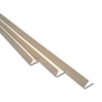 Lime Wooden Triangular Strip 10,0 x 10,0 x 13,0 mm
