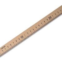 Wooden Straightedge 100 cm, Hardwood