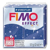 Fimo Effect Glitterfarbe 302 blau