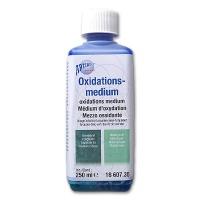 Oxidising Agent blue green / turqouise
