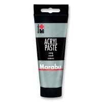 Marabu Acrylic Paste, silver, 100 ml