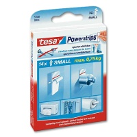 Tesa PowerStrips Small, 14 pcs.