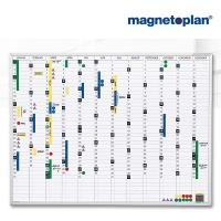 magnetoplan Jahresplaner, (B)1200 x (H)900 mm