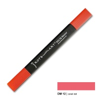 Delta Marker coral red 12