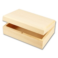 Holzkästchen - Holzschatulle aus Kiefernholz