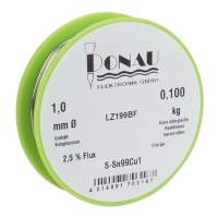 Solder Wire 1 mm, lead-free, 100 g
