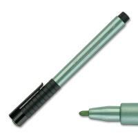 Artist Pen, 294 green metallic