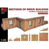 Gebäudeelemente im Maßstab 1:35