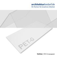 PET-G Platte 500 x 1000 x 0,8 mm