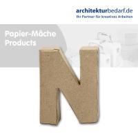 Buchstabe Papier-Mâché - N