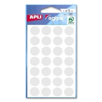 agipa Marking Points, Ø 15 mm, weiß