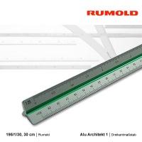 Alu-Dreikantmaßstab 30 cm