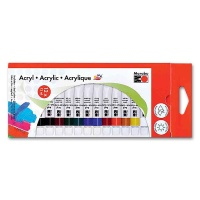 Acrylfarbenset Marabu 121000200