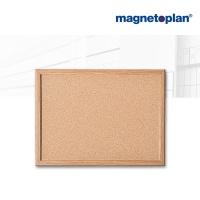 magnetoplan Korktafel mit Holzrahmen, 400 x 300 mm