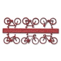 Bicycles, 1:200, red