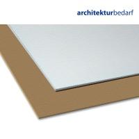 Pappe braun / weiß, Stärke 1,3 mm