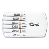 Pigment Marker 6er Set Hauttöne