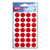 agipa Marking Points, Ø 15 mm, red