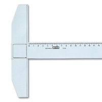 Kunststoff-Reißschiene 75 cm