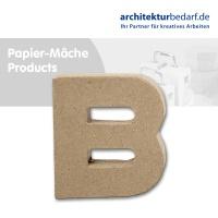 Buchstabe Papier-Mâché - B