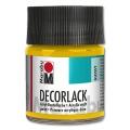 Decorlack Acrylic glossy - No. 021 medium yellow