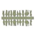 Figures, 1:200, light green