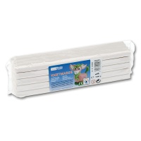 Plasticine 1 kg white