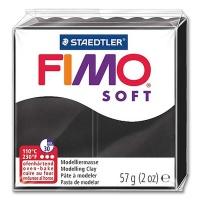 Fimo Soft 9 schwarz