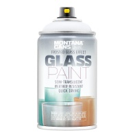 Montana Glass Paint Frosted White