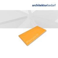 Plexiglas® GS transparent satiniert orange